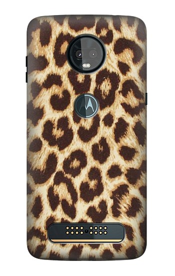 Printed Leopard Pattern Graphic Printed Motorola Moto Z3, Z3 Play Case