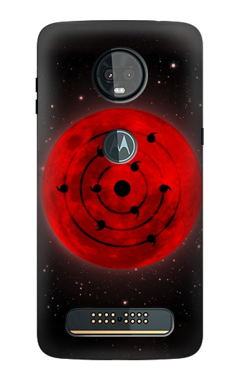 Printed Eye of the Moon Plan Madara Naruto Motorola Moto Z3, Z3 Play Case