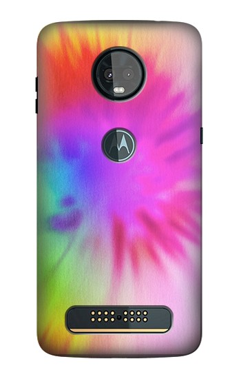 Printed Tie Dye Color Motorola Moto Z3, Z3 Play Case