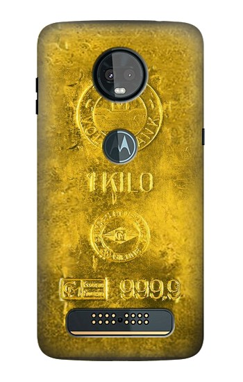 Printed One Kilo Gold Bar Motorola Moto Z3, Z3 Play Case