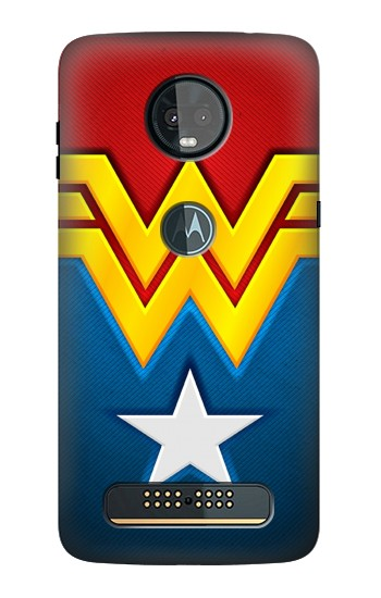 Printed Wonder Women Logo Motorola Moto Z3, Z3 Play Case