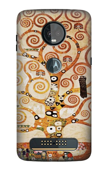 Printed The Tree of Life Gustav Klimt Motorola Moto Z3, Z3 Play Case