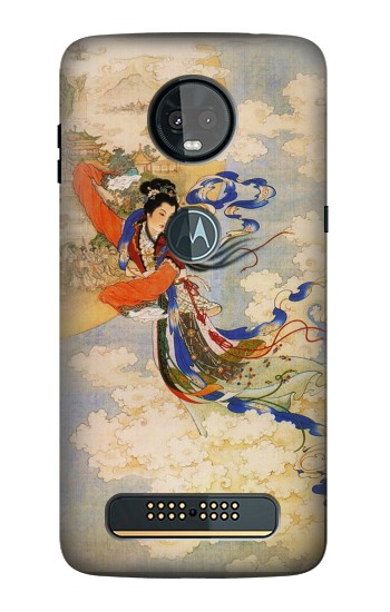 Printed Chang-E Moon Goddess Motorola Moto Z3, Z3 Play Case