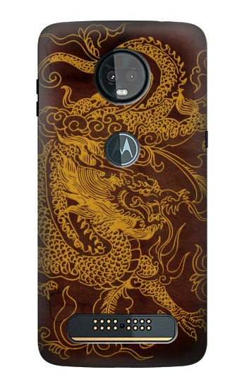 Printed Chinese Dragon Motorola Moto Z3, Z3 Play Case