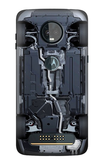 Printed Car Underbody Motorola Moto Z3, Z3 Play Case