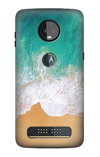 Printed Sea Beach Motorola Moto Z3, Z3 Play Case