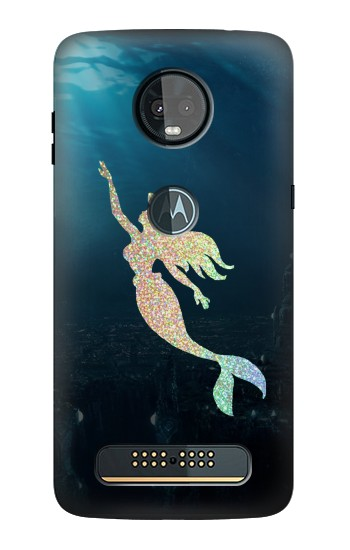 Printed Mermaid Undersea Motorola Moto Z3, Z3 Play Case