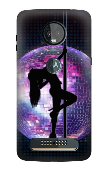 Printed Sexy Disco Dancer Motorola Moto Z3, Z3 Play Case