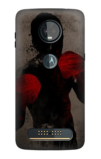 Printed Boxing Motorola Moto Z3, Z3 Play Case