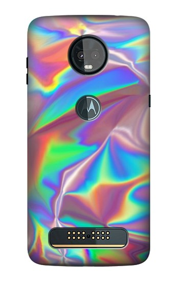 Printed Holographic Photo Printed Motorola Moto Z3, Z3 Play Case