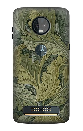 Printed William Morris Acanthus Leaves Motorola Moto Z3, Z3 Play Case