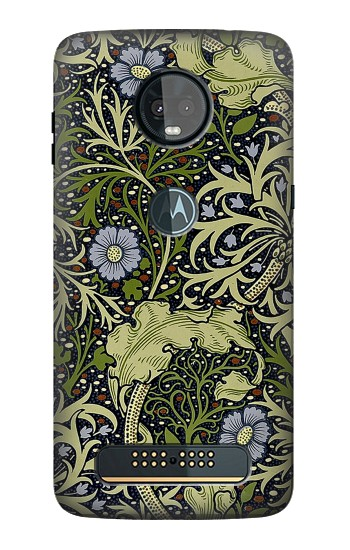 Printed William Morris Motorola Moto Z3, Z3 Play Case