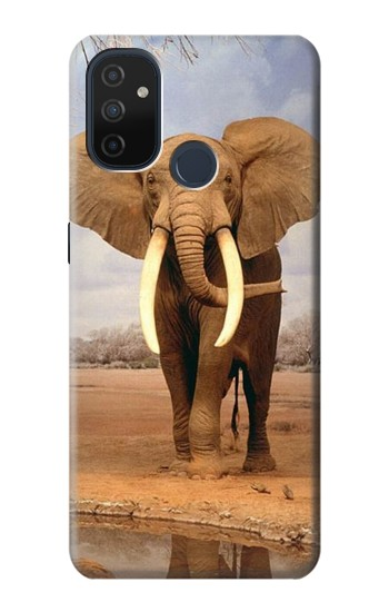 Printed African Elephant OnePlus Nord N100 Case