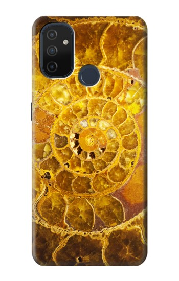 Printed Ammonite Fossils OnePlus Nord N100 Case