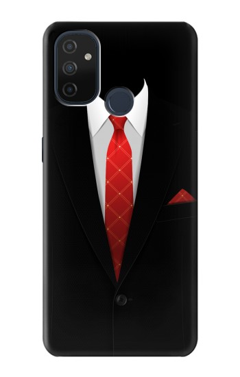 Printed Black Suit OnePlus Nord N100 Case