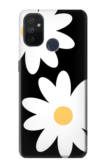 Printed Daisy White Flowers OnePlus Nord N100 Case