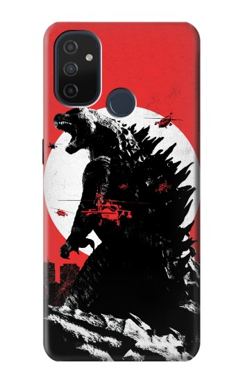 Printed Godzilla Japan Flag OnePlus Nord N100 Case
