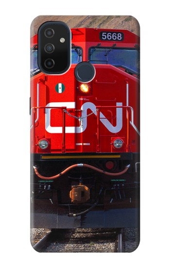 Printed Train Canadian National Railway OnePlus Nord N100 Case