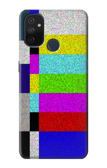 Printed Noise Signal TV OnePlus Nord N100 Case