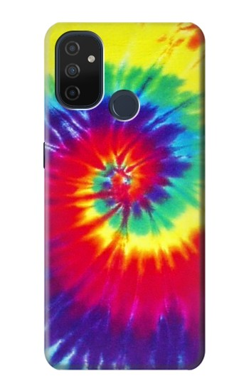 Printed Tie Dye Fabric Color OnePlus Nord N100 Case