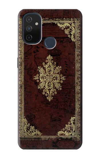 Printed Vintage Map Book Cover OnePlus Nord N100 Case