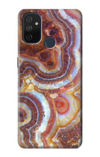 Printed Colored Marble Texture Printed OnePlus Nord N100 Case