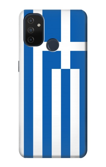 Printed Flag of Greece OnePlus Nord N100 Case