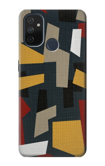 Printed Abstract Fabric Texture OnePlus Nord N100 Case