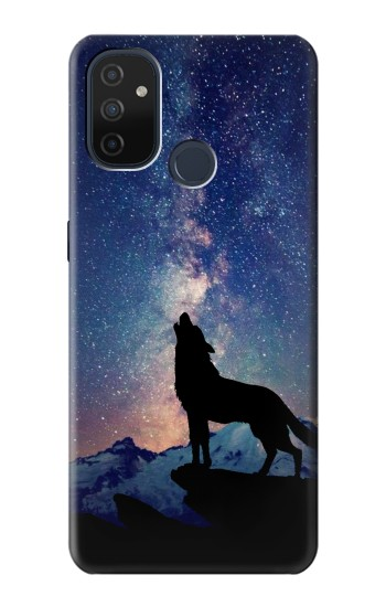 Printed Wolf Howling Million Star OnePlus Nord N100 Case
