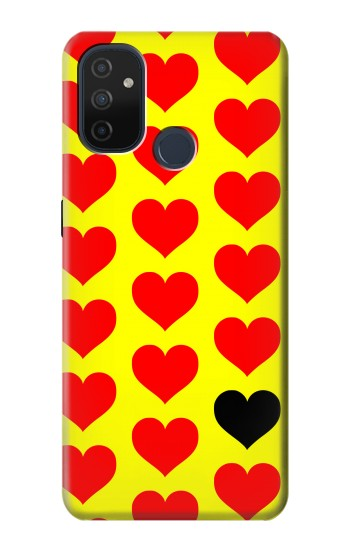 Printed Red Heart OnePlus Nord N100 Case