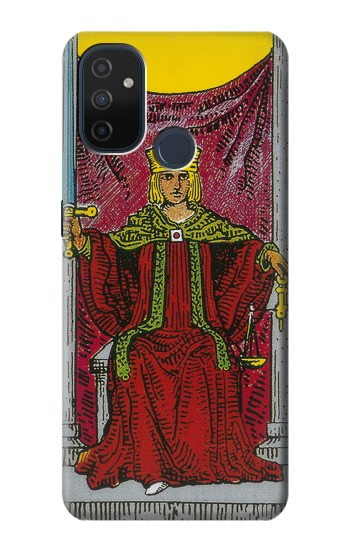 Printed Tarot Card Justice OnePlus Nord N100 Case