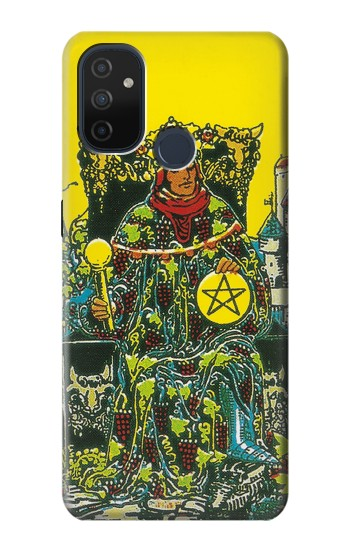 Printed Tarot Card King of Pantacles Coins OnePlus Nord N100 Case