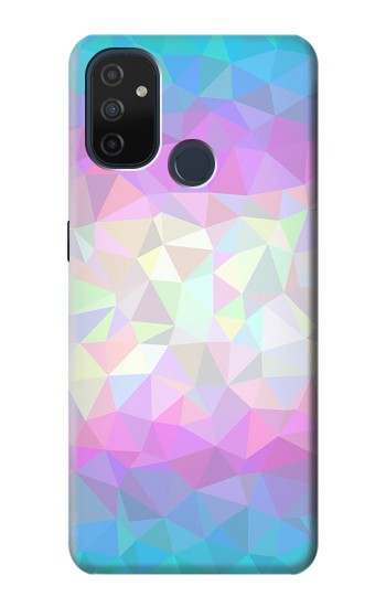Printed Trans Flag Polygon OnePlus Nord N100 Case