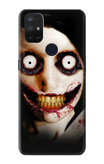 Printed Jeff the Killer OnePlus Nord N10 5G Case