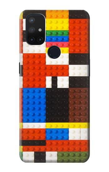 Printed Brick Toy Lego Graphic Printed OnePlus Nord N10 5G Case