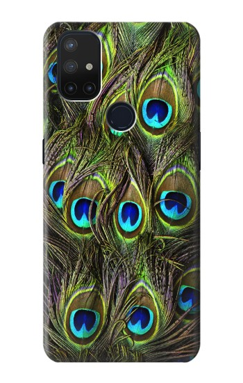 Printed Peacock Feather OnePlus Nord N10 5G Case