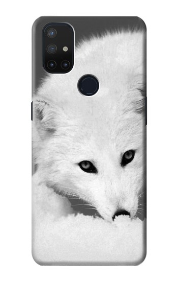 Printed White Arctic Fox OnePlus Nord N10 5G Case