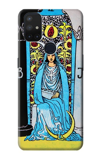 Printed The High Priestess Vintage Tarot Card OnePlus Nord N10 5G Case