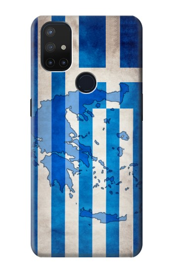 Printed Greece Map Flag OnePlus Nord N10 5G Case
