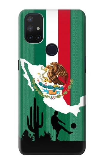 Printed Mexico Football Flag OnePlus Nord N10 5G Case