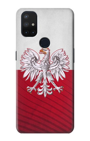 Printed Poland Football Flag OnePlus Nord N10 5G Case