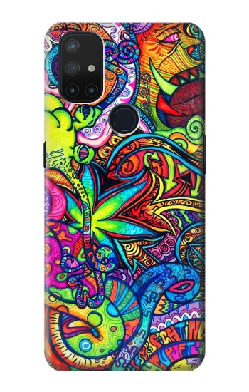 Printed Colorful Art Pattern OnePlus Nord N10 5G Case