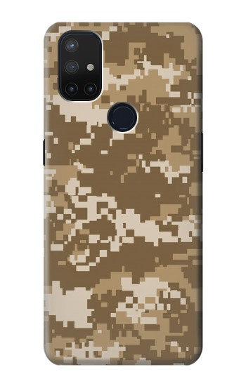 Printed Army Camo Tan OnePlus Nord N10 5G Case