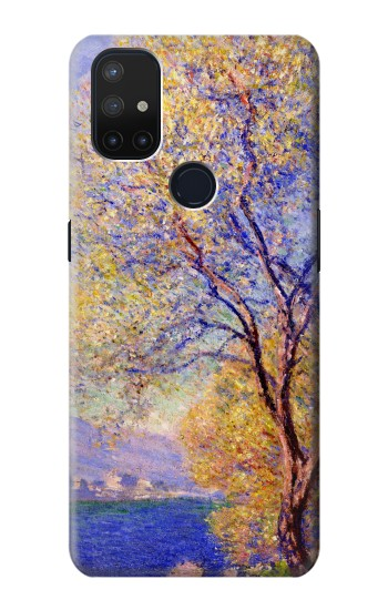 Printed Claude Monet Antibes Seen from the Salis Gardens OnePlus Nord N10 5G Case
