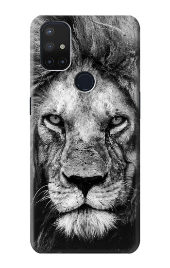 Printed Lion Face OnePlus Nord N10 5G Case