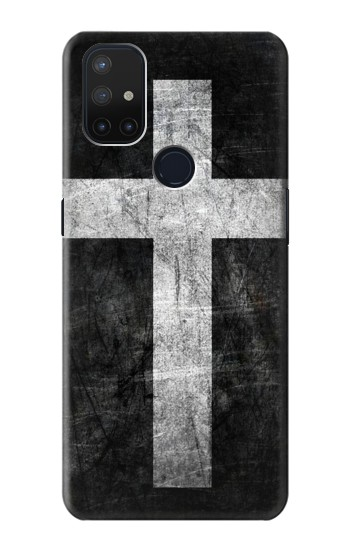 Printed Christian Cross OnePlus Nord N10 5G Case