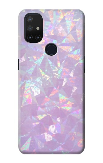 Printed Iridescent Holographic Photo Printed OnePlus Nord N10 5G Case