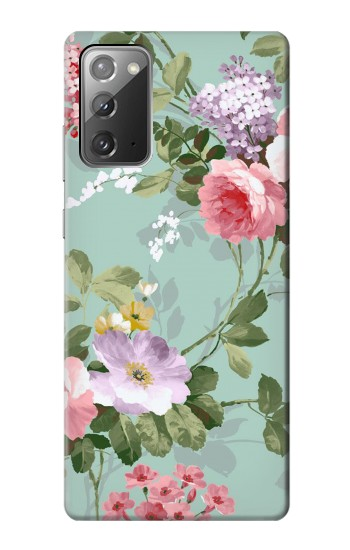 Printed Flower Floral Art Painting Samsung Galaxy Note 20 Case