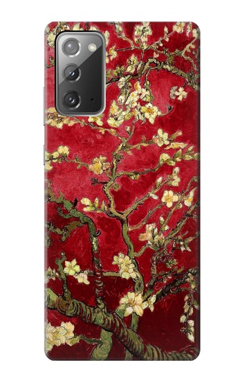Printed Red Blossoming Almond Tree Van Gogh Samsung Galaxy Note 20 Case