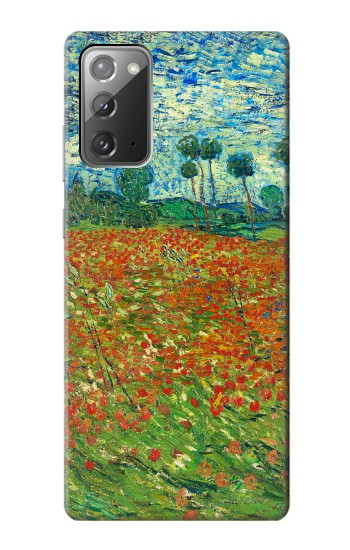 Printed Field Of Poppies Vincent Van Gogh Samsung Galaxy Note 20 Case